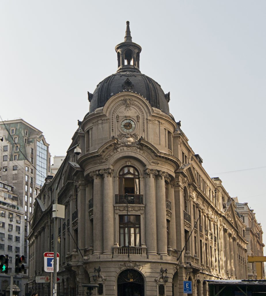 Hito 4. Edificio de la Bolsa de Comercio