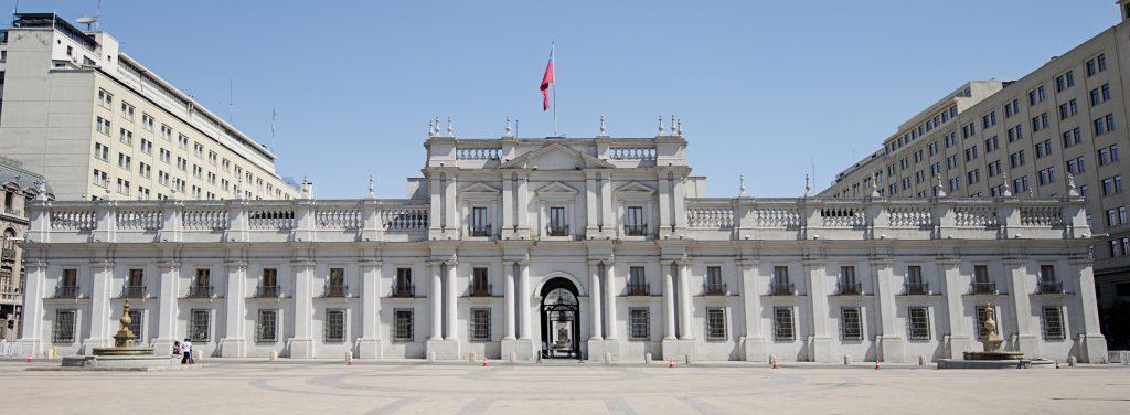 Hito 8 - Palacio de la Moneda